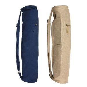 Jute Yoga Mat Bags