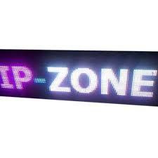 Purple LED Display Board