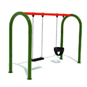 Playground Double Bucket Swing