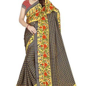 Georgette Chiffon Printed Saree
