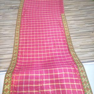 Pink Embroidered Sarees