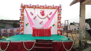 Birthday Stage Decoration Services