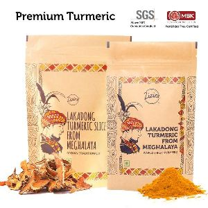 Turmeric Powder and Slices Combo Pack