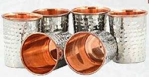 KK-1136 Stainless Steel Copper Glass