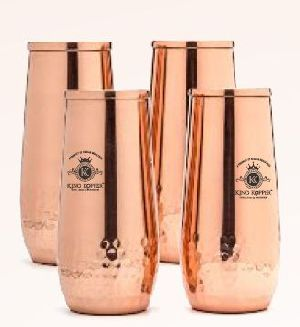 KK-1197 Copper Champagne Glass