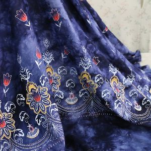 Rayon Printed Curtain Fabric