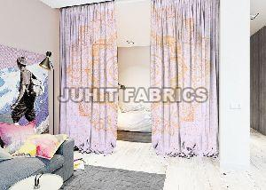 Cotton Printed Curtain Fabric