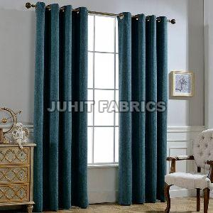 Cotton Rayon Plain Curtain Fabric