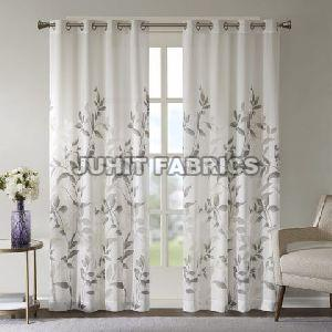 Cotton Rayon Printed Curtain Fabric