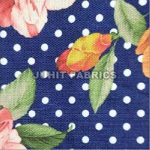 Digital Print Cotton Polyester Dress Material