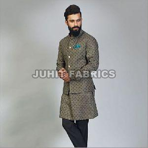 Mens Cotton Kurta Jacket Set