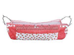 Strawberry Print Baby Cotton Jhula