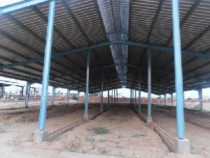 Dairy Farm Prefabricated Shed