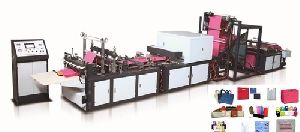 Automatic Non Woven W & U Cut Bag Making Machine