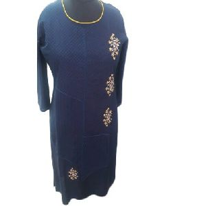 Ladies Fancy Embroidered Kurti