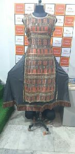 Ladies Fancy Silk Kurti