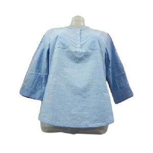 Ladies 3/4th Sleeve Cotton Top