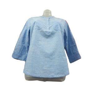 Ladies 3/4th Sleeve Cotton Top