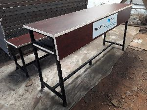 5ft Length Desk and Bench Supplied Under Csr Project