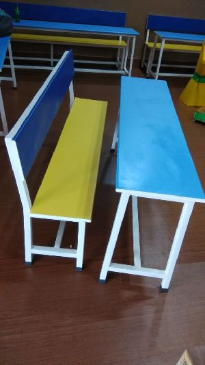 Desk Bench for Class Room