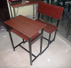 Single Seater Classroom Desk Bench, Most Suitable for Class Examination