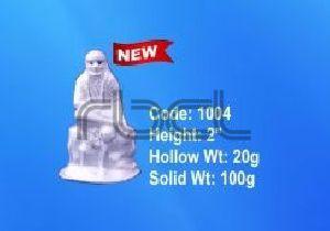 1004 Sterling Silver Sai Baba Statue