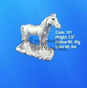 101  Sterling Silver Horse Statue