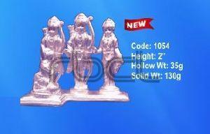 1054 Sterling Silver Ram Darbar Statue