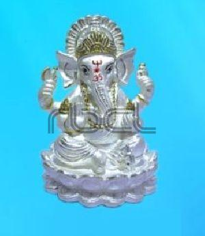 115R Sterling Silver Ganesh Statue