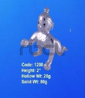1200 Sterling Silver Laddu Gopal Statue