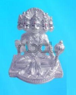 203 Sterling Silver Hanuman Statue