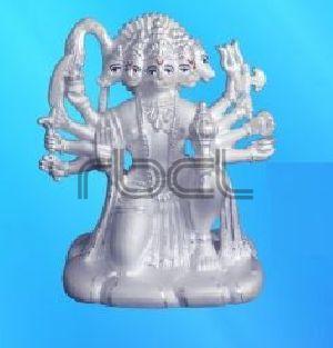 214 Sterling Silver Hanuman Statue