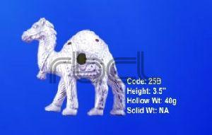 25B Sterling Silver Camel Statue