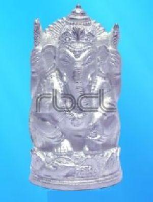 304 Sterling Silver Ganesh Statue