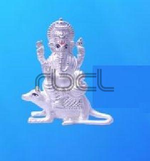 351 Sterling Silver Ganesh Statue
