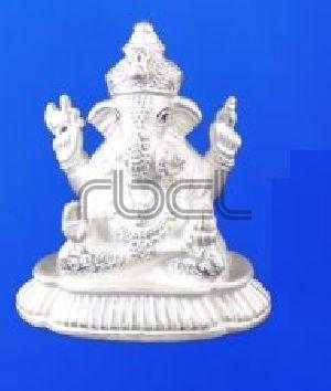 353 Sterling Silver Ganesh Statue