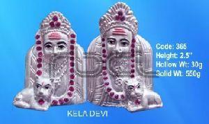 365 Sterling Silver Kela Devi Statue