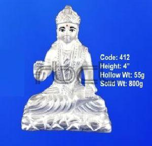 412 Sterling Silver Parvati Statue