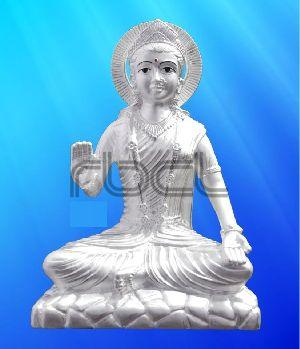 414 Sterling Silver Parvati Statue