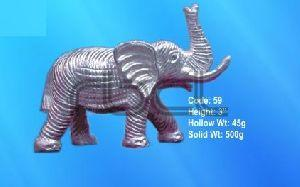 59 Sterling Silver Elephant Statue