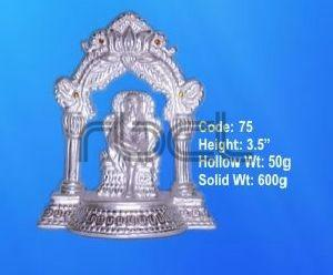 75 Sterling Silver Sai Baba Statue