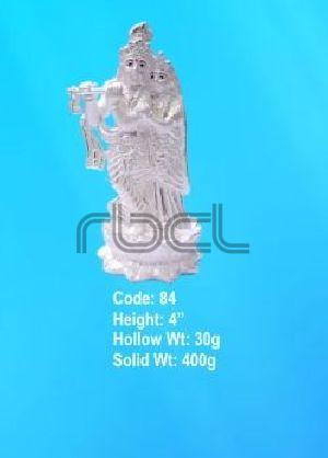 84 Sterling Silver Radha Krishna Statue