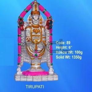 89 Sterling Silver Tirupati Statue