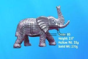 93 Sterling Silver Elephant Statue