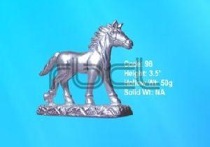 98 Sterling Silver Horse Statue