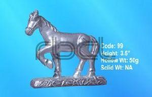 99 Sterling Silver Horse Statue