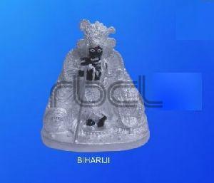 999 Silver Bihari Ji Statue