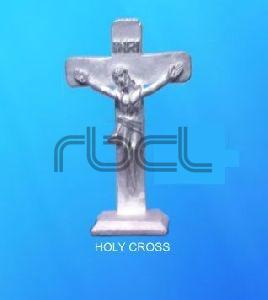 999 Silver Holy Cross Statue