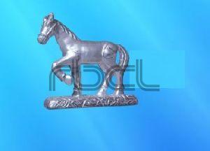 999 Silver Horse Statue