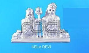 999 Silver Loknath Baba Statue